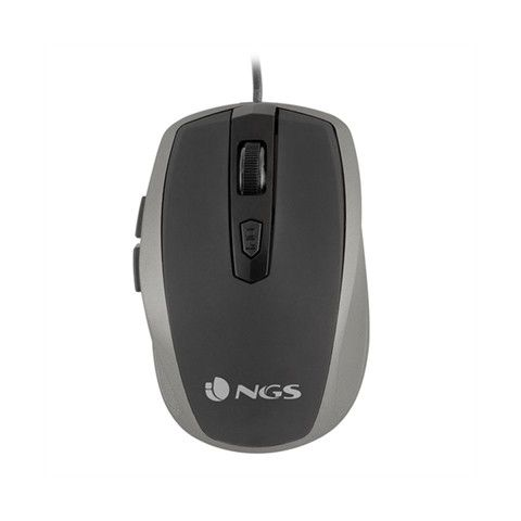 NGS Raton optico TickSilver USB Plata
