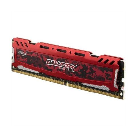 Crucial Ballistix Sport LT 4GB DDR4 2400MHz Roja