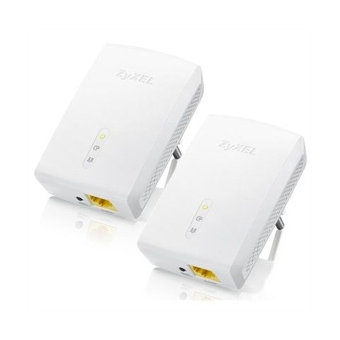 ZyXEL PLA5405V2 Powerline MIMO Gigabit Twin Pack