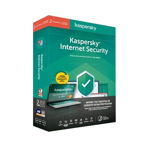 Kaspersky Internet Security MD 2020 2L 1ATarjMon