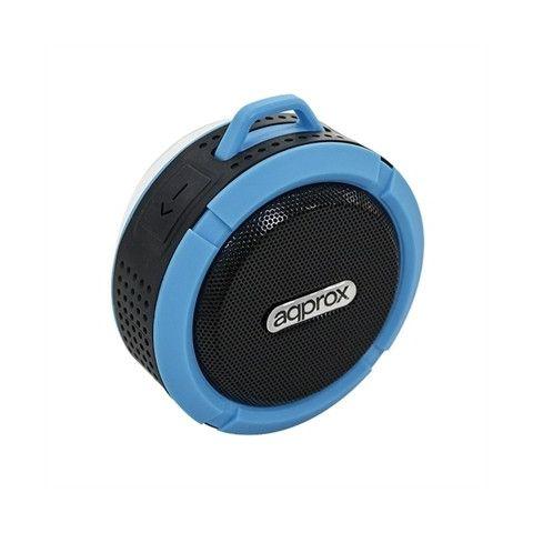 approx Altavoz waterproof BT APPSPWPBL Azul