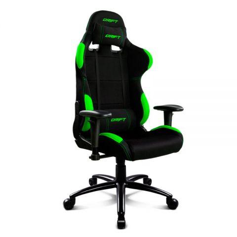Drift DR100BG Silla Gaming Negra Verde