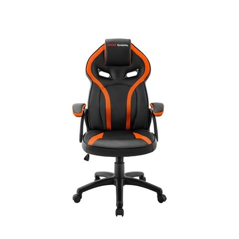 Mars Gaming Silla MGC118 Neg Naranja GAS LIFT CL4