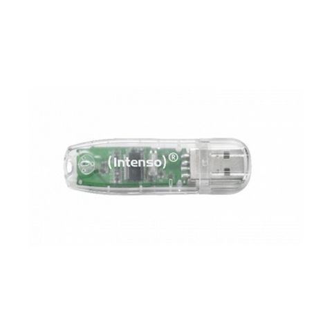 Intenso 3502480 Lapiz USB 20 Rainbow 32GB Transp