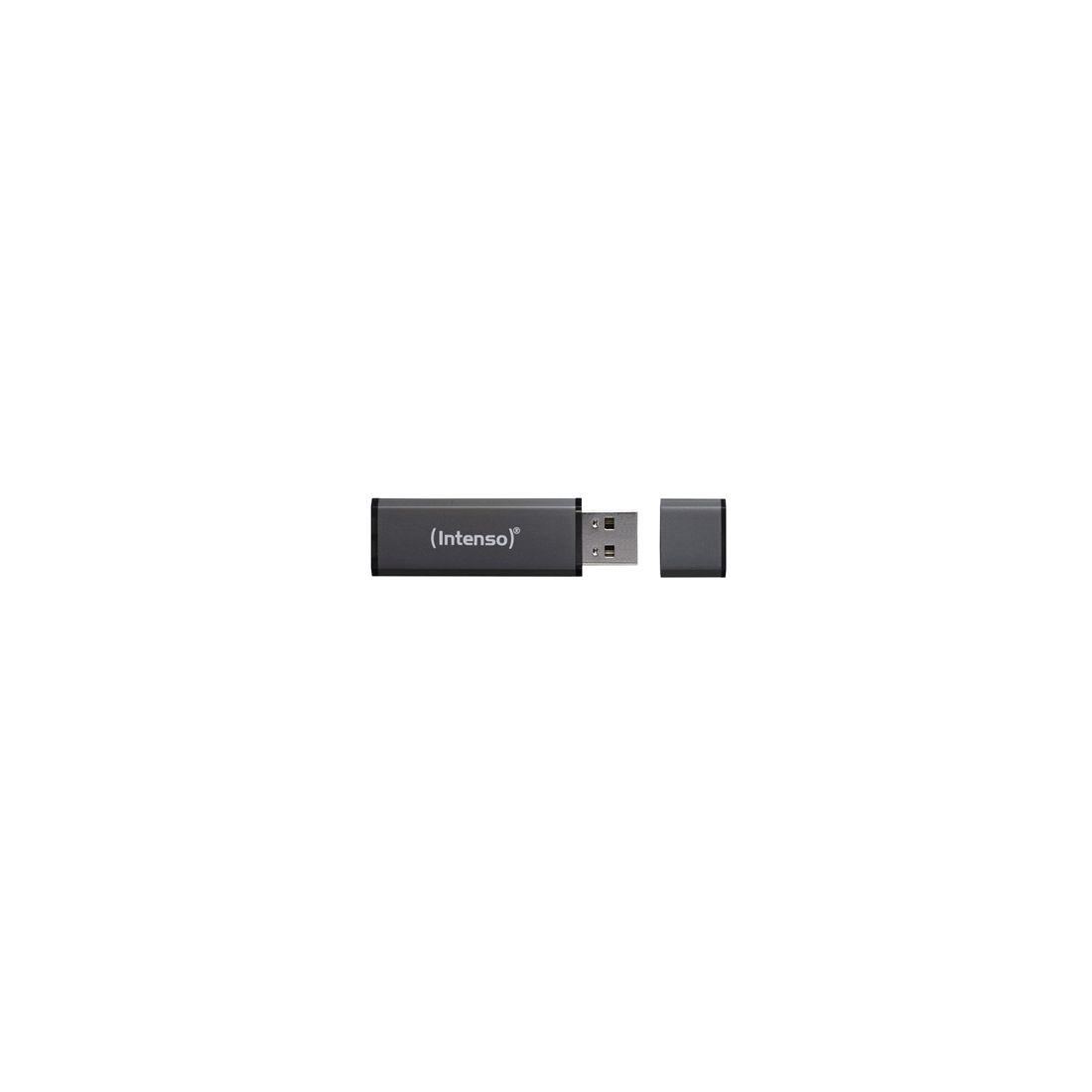 Intenso 3521491 Lapiz USB 20 Alu 64GB Antracita