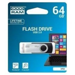 Goodram UTS2 Lapiz USB 64GB USB20 Negro