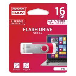 Goodram UTS3 Lapiz USB 16GB USB 30 Rojo
