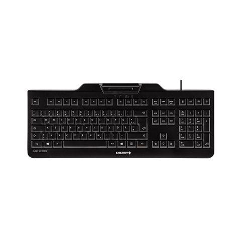 Cherry Tecladolector chip integrado DNIe Negro