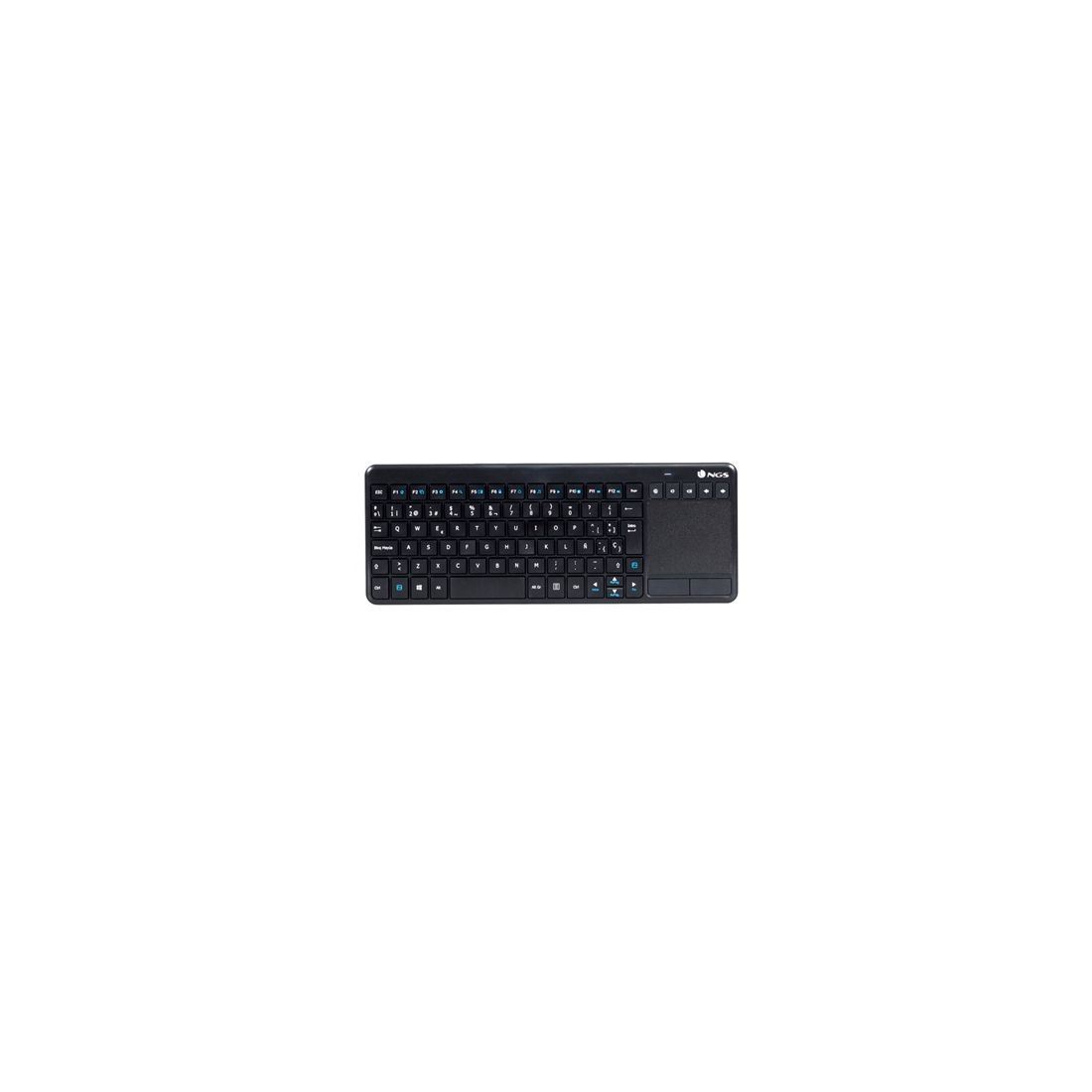 NGS Teclado inalambrico con Touchpad Multimedia 2