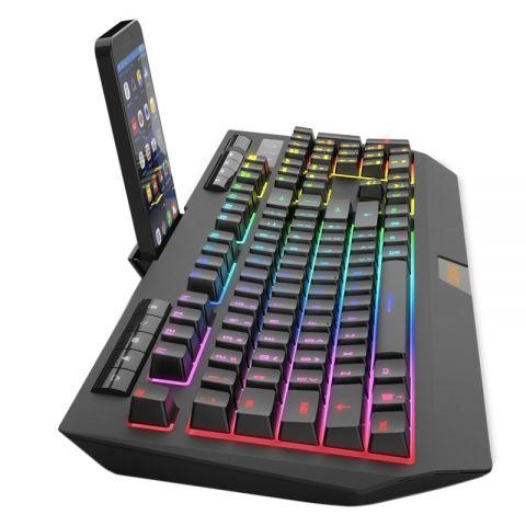Krom Teclado Gaming Semi Mechanical KUMA RGB