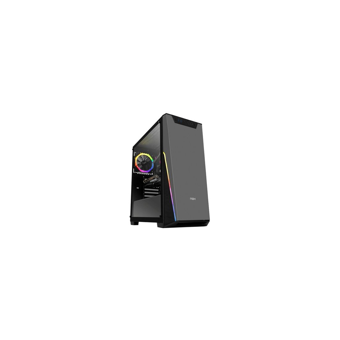 Nox Caja Semitorre ATX Infinity Sigma ARGB