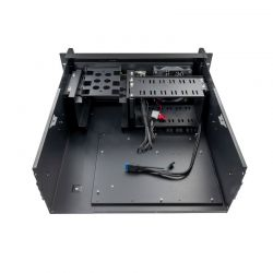 Tooq Caja RACK 406N USB3 4U 19 ATX Sin FA Negro