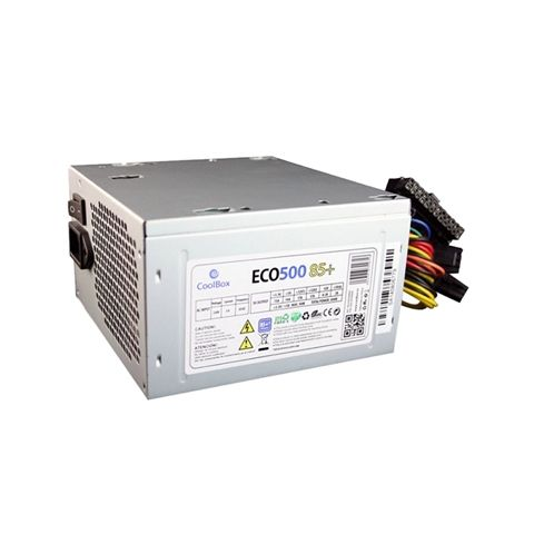 CoolBox Fuente Alim ATX ECO 500 85 EFI