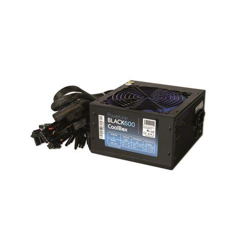 CoolBox fuente alimentacion Powerline 600 PFC ATX