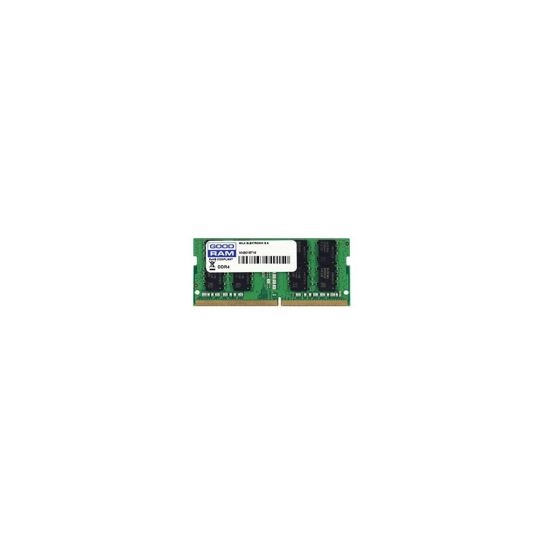 Goodram 4GB DDR4 2400MHz CL17 SR SODIMM