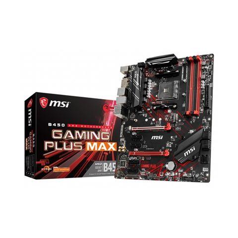 MSI Placa Base B450 GAMING PLUS MAX ATX AM4