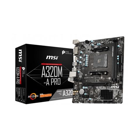 MSI Placa Base A320M A PRO mATX AM4