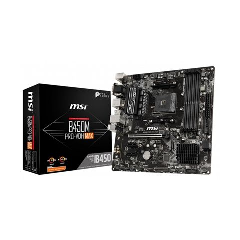 MSI Placa Base B450M PRO VDH MAX AM4
