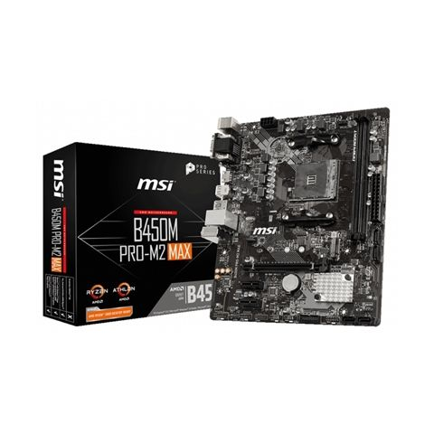 MSI Placa Base B450M PRO M2 MAX mATX AM4