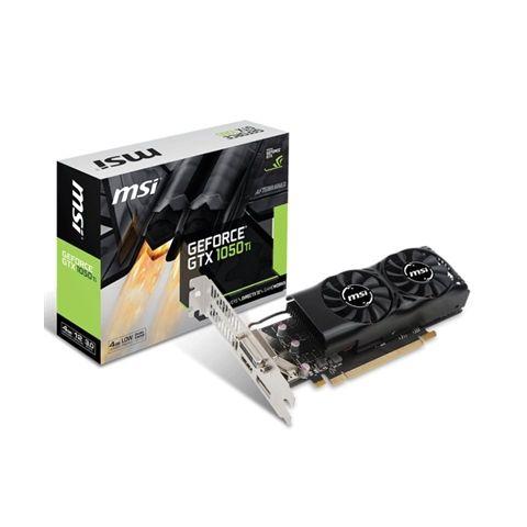 MSI VGA NVIDIA GTX 1050 Ti 4GT LP 4GB DDR5