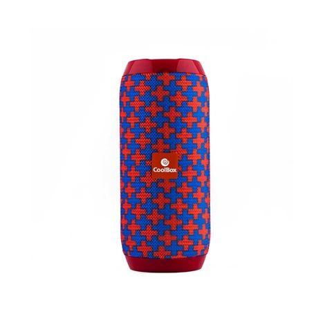 Coolbox Altavoz 20 BT COOLTUBE Rojo y Azul