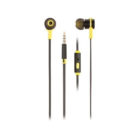 NGS Auriculares metalicos cplano 12m Negro