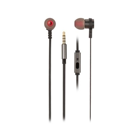 NGS Auriculares metalicos cplano 12m Gris