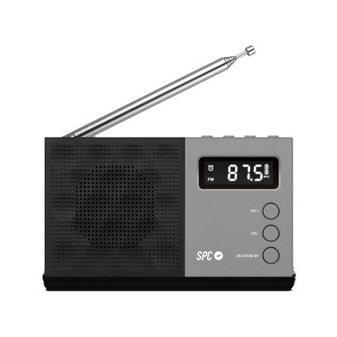 SPC Radio FM Jetty pantalla LCD