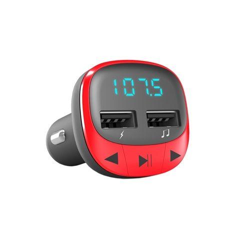 Energy sistem Car Transmitter FM Red microSDMP3