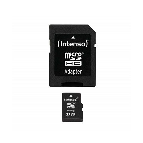 Intenso 3413480 Micro SD clase 10 32GB c adapt