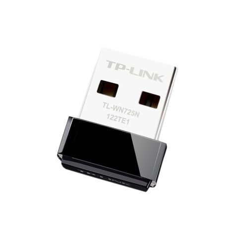 TP LINK TL WN725N Tarjeta Red WiFi N150 Nano USB
