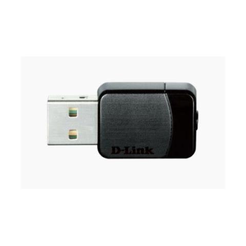 D Link DWA 171 Tarjeta Red WiFi AC750 Nano USB