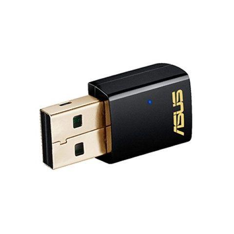 ASUS USB AC51 Tarjeta Red WiFi AC600 USB