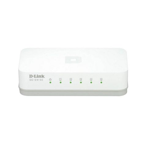 D Link GO SW 5E Switch 5x10 100Mbps Mini