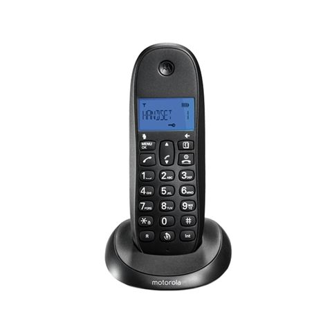 MOTOROLA C1001 LB Telefono DECT Negro