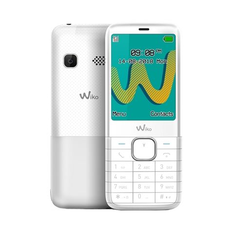 Wiko Riff 3 Plus Telefono Movil 24 QVGA BT Blanc