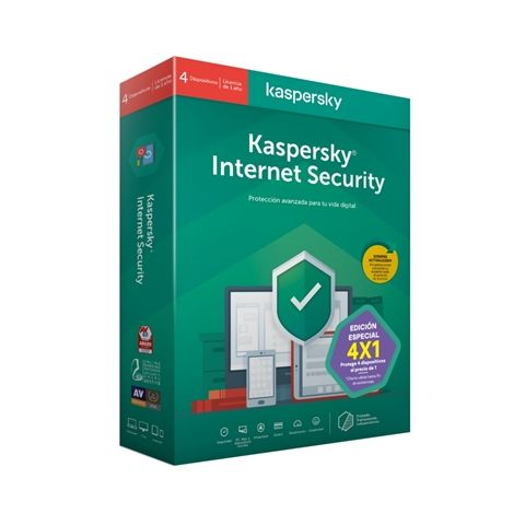 Kaspersky Internet Security MD 2020 4L 1A