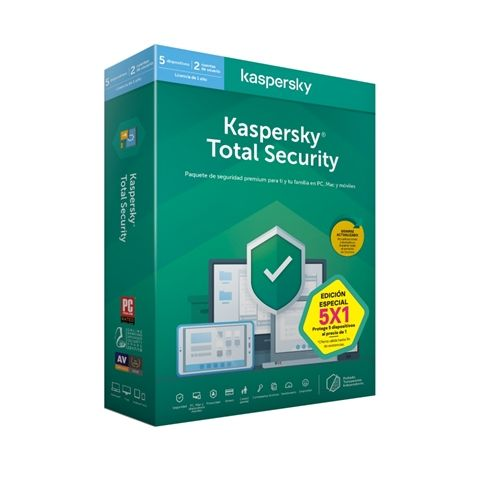 Kaspersky Total Security MD 2020 5L 1A