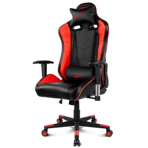 Drift Silla Gaming DR85 Black Red
