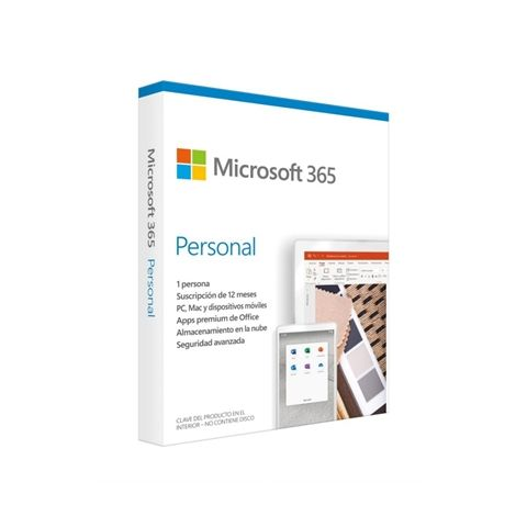 Microsoft 365 Personal Subscripanual 1u