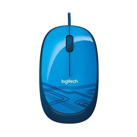 Logitech Raton Optico 1000dpi M105 Azul
