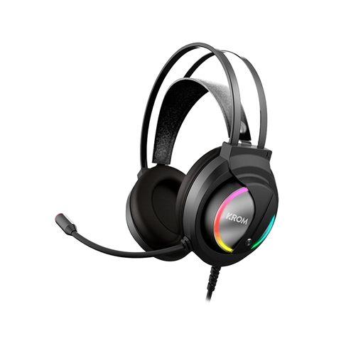 Krom Auricular Gaming KAPPA estereo RGB