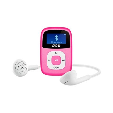 SPC Mp3 8GB 8668P Bluetooth FM Pantalla de 1 Rosa