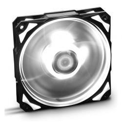 Nox Ventilador Caja HFAN 12cm Led Blanco