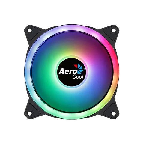 Aerocool Ventilador DUO12 argb 12CM Doble ring