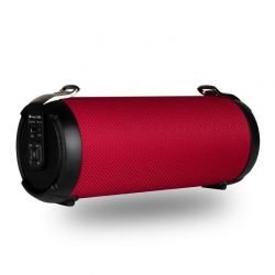 NGS Altavoz Portatil Roller Tempo Rojo USB SD AUX