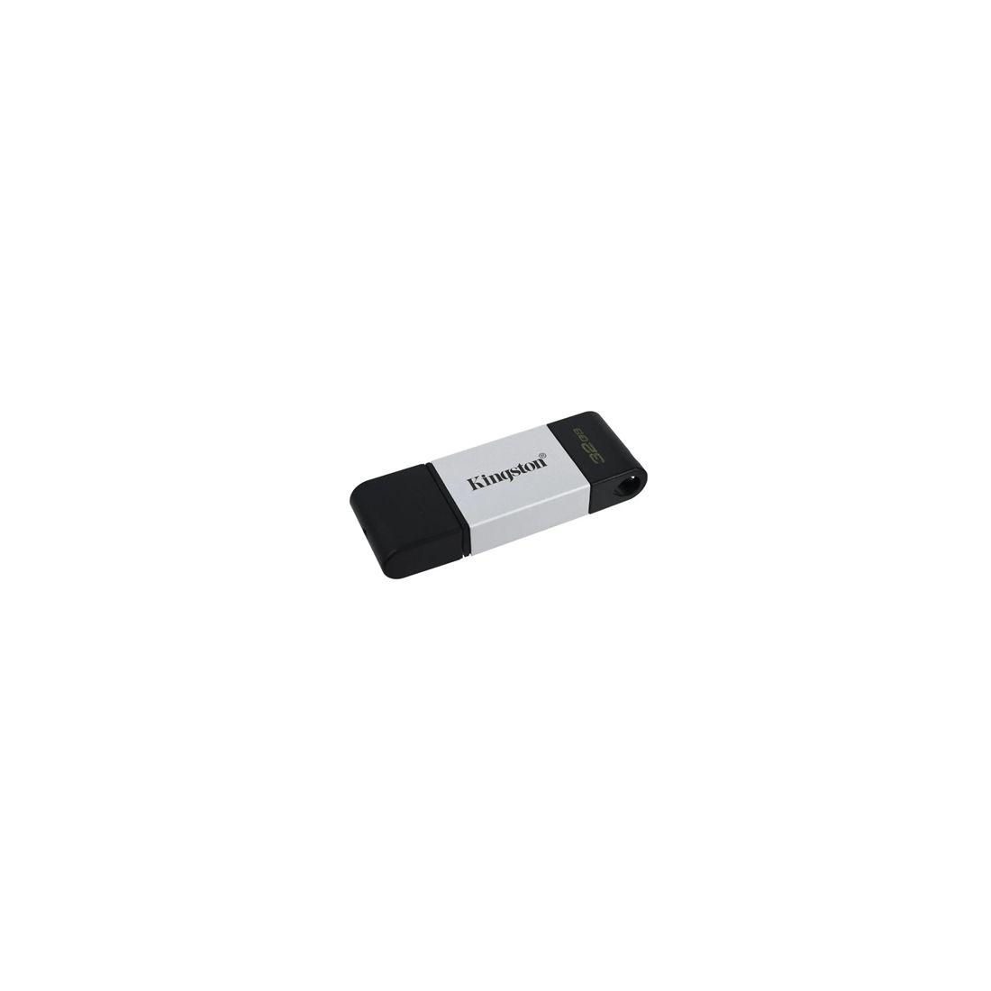 Kingston DataTraveler DT80 32GB USB C 32 Plata