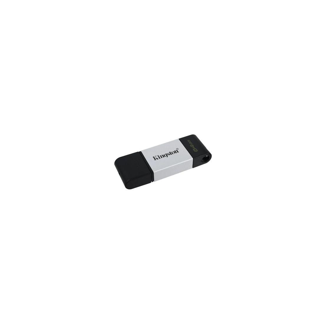 Kingston DataTraveler DT80 64GB USB C 32 Plata