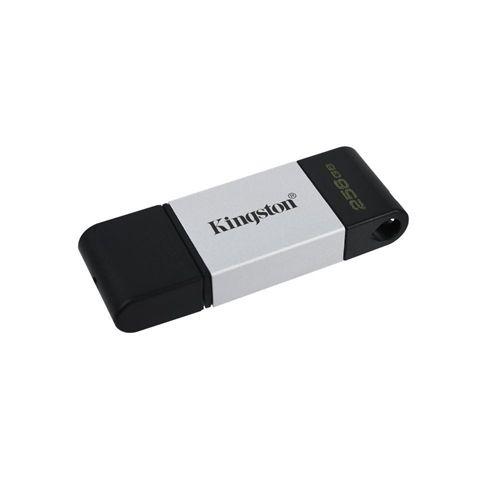 Kingston DataTraveler DT80 256GB USB C 32 Plata