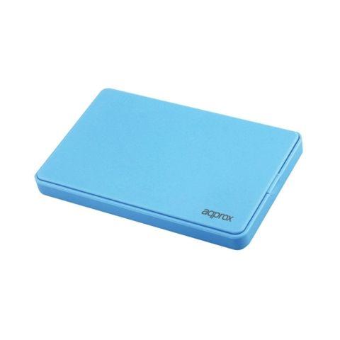 approx APPHDD300LB caja HDD 25 SATA 30 Azul